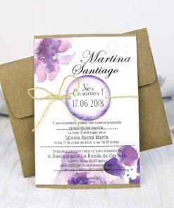 Invitación Cardnovel 32635