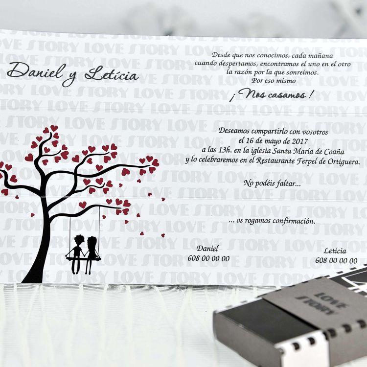 Invitación Boda 39116