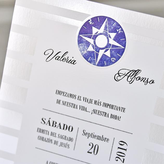 Invitación Boda 39306