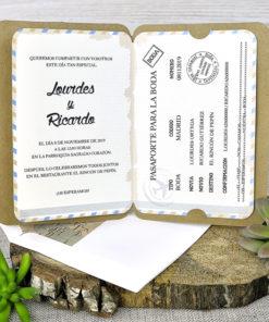 Invitación Boda 39315