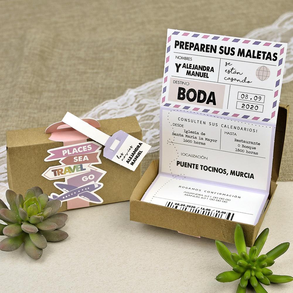 Invitación Boda 39618