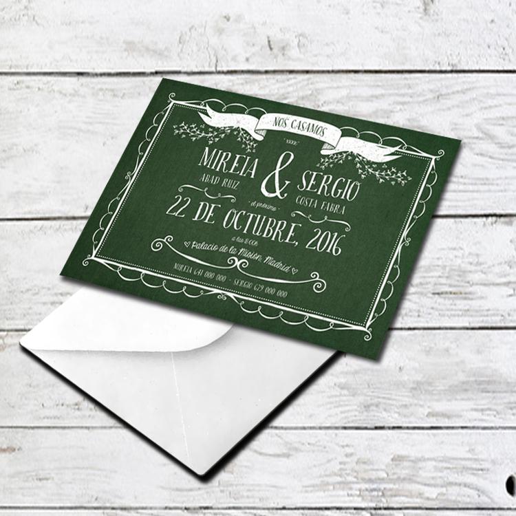 Invitación Boda GK-165018