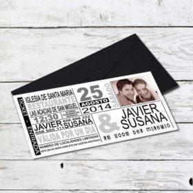 Invitación Boda GK-INV-145000