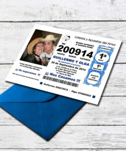 Invitación Boda GK-INV-145002