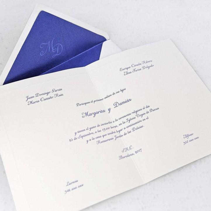 Invitación Boda 32838