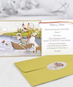 Invitación Boda 32405